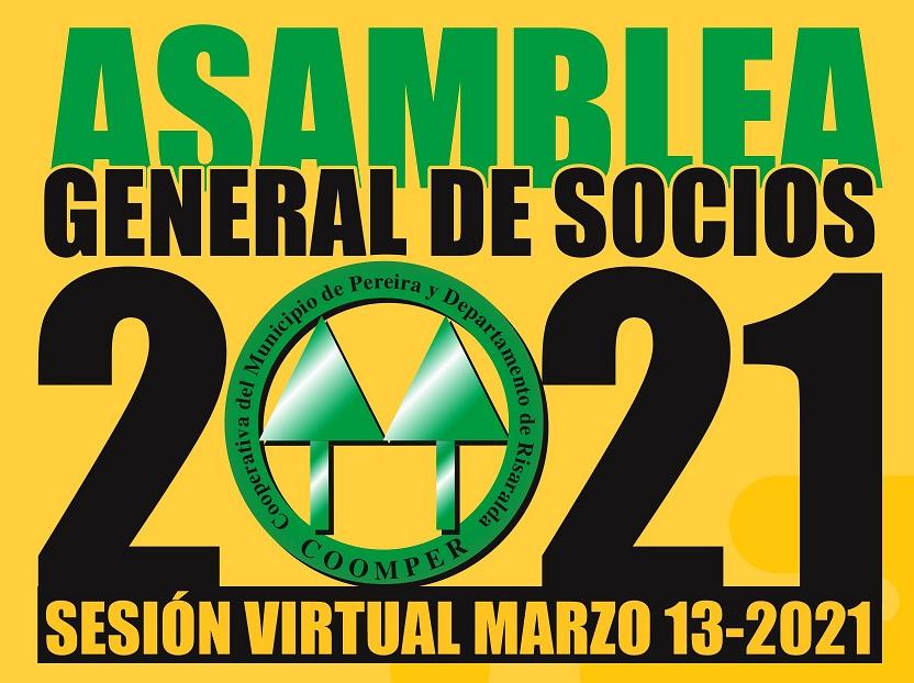 Convocatoria Asamblea Anual de Asociados 2021
